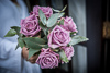 cool water rose posy 1